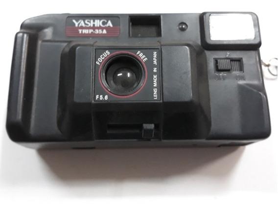 Câmera Fotografica Yashica Trip 35a Analógica