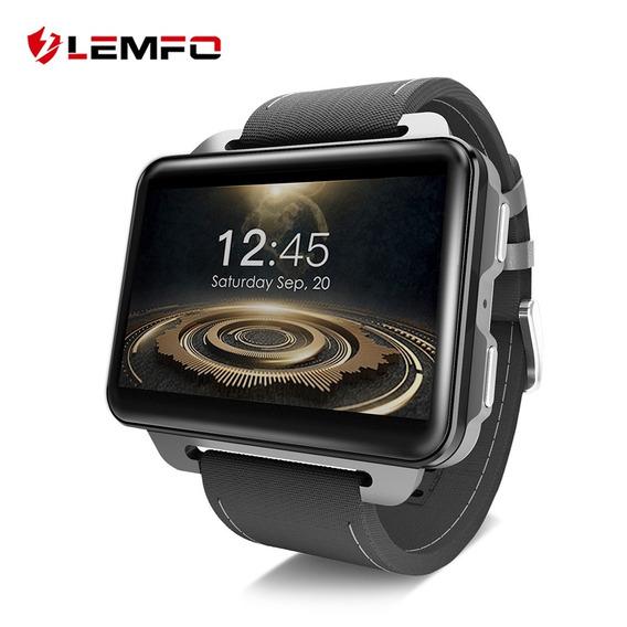 Lemfo Lem4 Pro Reloj Inteligente Reloj 3g Con Pantalla Cuadr