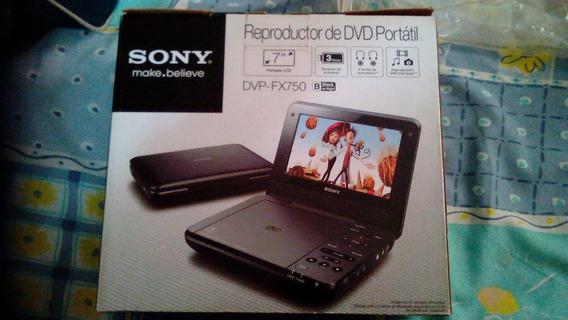 Dvd Portátil Sony Fx 750