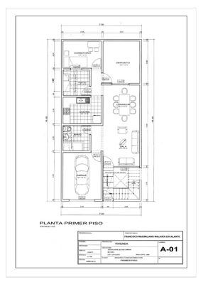Alquiler Casa 2 Hab 1 Cochera Cocina Sala Piso1 Los Olivos