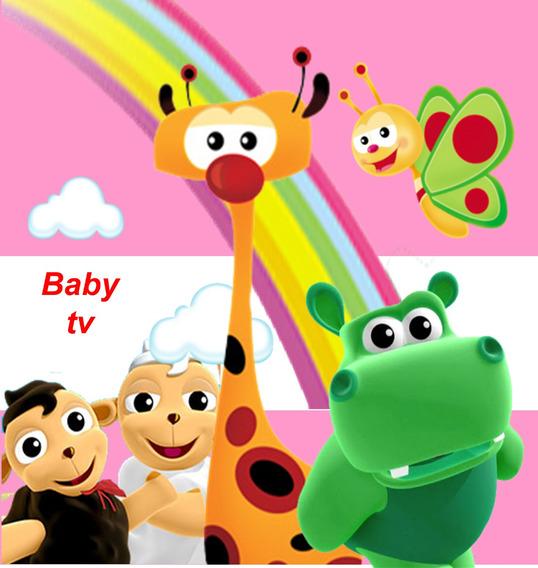 Kit Imprimible Baby Tv Nena Carteles Tarjetas Y Mucho Mas