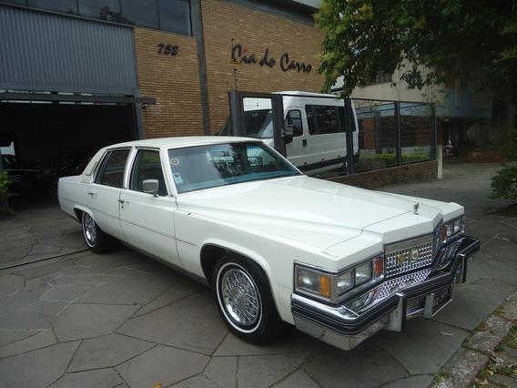Cadillac Fleetwood Brougham 1979 Com 28.000 Milhas Originais