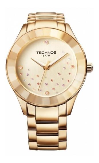 Relógio Technos Elegance Crystal Swarosvki 2036llp/4x