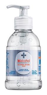 Alcohol En Gel Neutro Bialcohol 250ml Valvula Docificadora