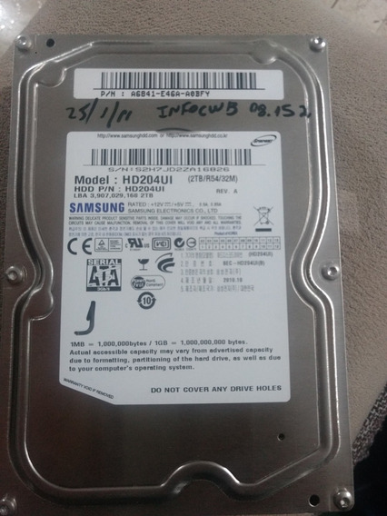 Hd Samsung 2tb