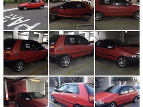 Fiat Palio Turbo 1.0 Com Som E Rodas Aro 15 ,alarmes E Trava