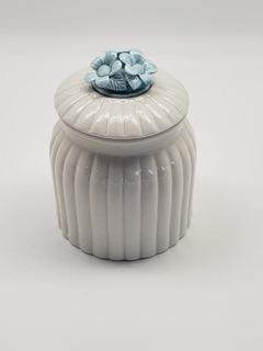 Joyero Alhajero Organizador De Porcelana Decorativo