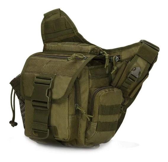 Bolsa Tactica Cruzada Push Pack