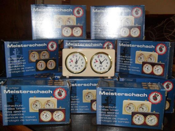Reloj Analógico De Ajedrez