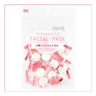 Daiso Compressed Facial Mask 35 Unidades