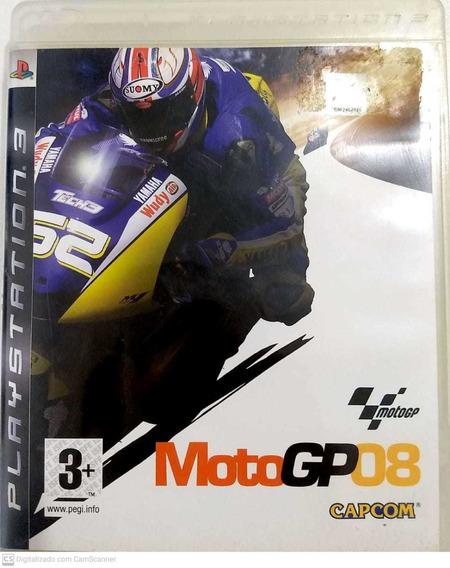Moto Gp 08 - Ps3 - Original Usado - Midia Fisica - Ps3mgp08