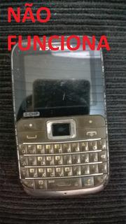Celular Motorola Ex 117 Não Funciona Telefone Retira Peças