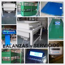 Balanzas Ganaderas, Industriales, Comerciales. Servicio Téc.