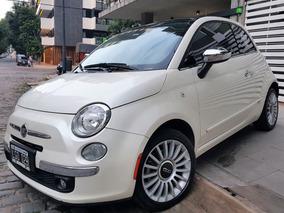 Fiat 500 1.4 Lounge 105cv Autom Blanco, Muy Buen Estado!