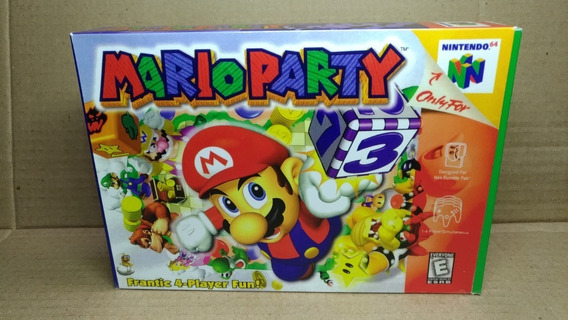 Mario Party Nintendo 64 : Original - Leia O Anuncio