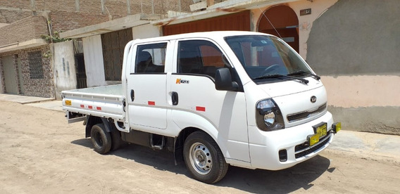 Camioncito Kia 2700 Doble Cabina Modelo 2019-2020