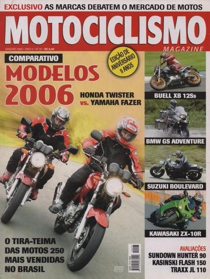 Motociclismo N°97 Honda Twister Yamaha Fazer Kawasaki Zx-10r