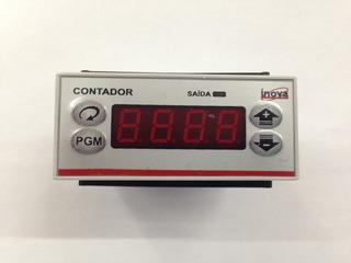 Contador Pulsos Digital Inv 49102 4 Dígitos 110/220v Inova
