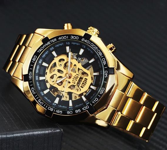 Relógio Automático Caveira Winner