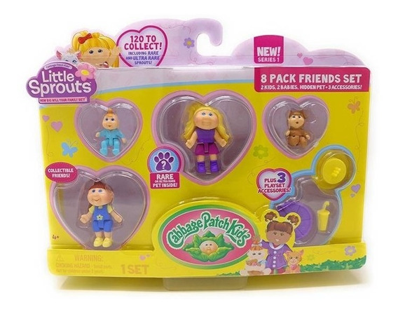 Little Sprouts Figuras Muñecos Articulados Pack X 8