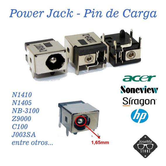 Power Jack Pin Carga Laptop Sira Soneview N1410 N1405 Nb3100