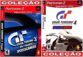 Gran Turismo 3 E 4 Ps2 ( Carros ) Coleção (2 Dvds) Patch