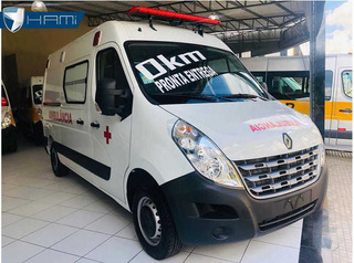 Renault Master 0km 2021 Ambulancia