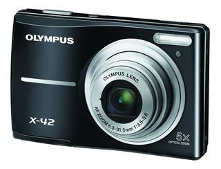 Camara Digital Compacta Olympus X42 Black 12mp Pantalla Lcd