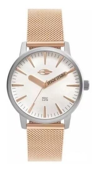 Relógio Mormaii Feminino Maui Rose Mo2036hy/4k