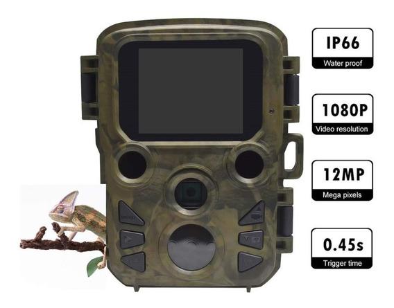 Câmera De Caça Trilha Prova D`guá Hd 1080 Mini 300 940mn