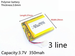 Bateria P/ Controle Remoto Gopro 350mah Nova Lacrada