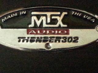 Amplificador Mtx Para Autos Usado En Perfecto Estado.