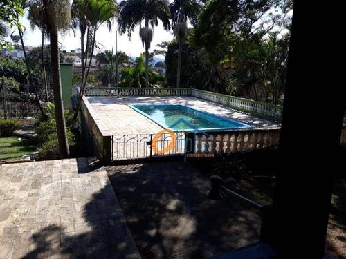 Chácara Com 3 Dormitórios À Venda, 10700 M² Por R$ 2.700.000,00 - Jardim Estância Brasil - Atibaia/sp - Ch0012