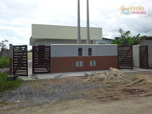 Imagem 1 de 13 de Casa Com 1 Dormitório À Venda, 39 M² Por R$ 155.000,00 - Jardim Itapel - Itanhaém/sp - Ca0925