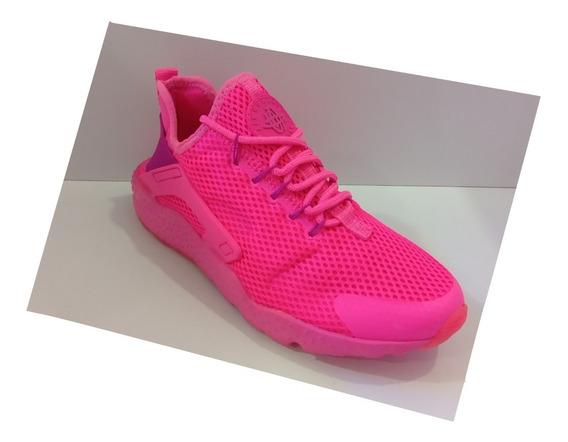 Zpt Deportivos Nike Air Huarache. Tallas 36-40. Color Rosado