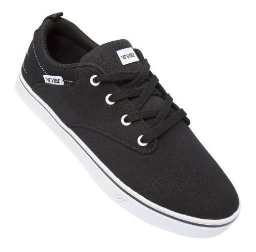 Tênis Vibe Feel Black White Original Com Nota Fiscal Vs65h