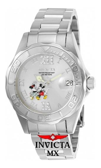 Invicta Edicion Limitada Disney Para Dama - Modelo 22867