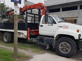 Camion Chevrolet Kodiak Con Grua Articulada