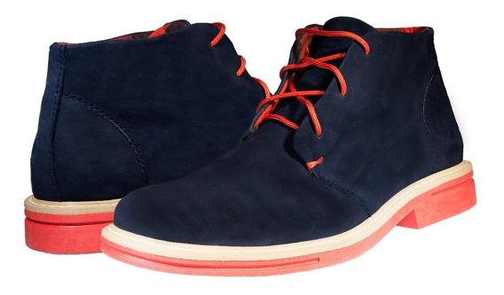 Oferta Descuento Promoción Zapato Bota Hombre Gamuza Cómodo