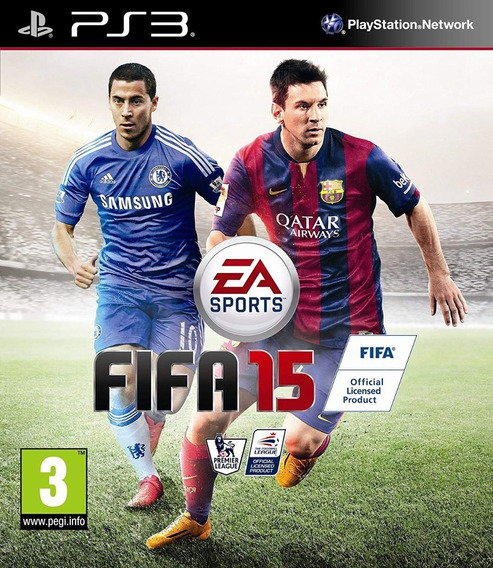 Game Play3 - Fifa 15 - Semi-novo Jogo Ps3