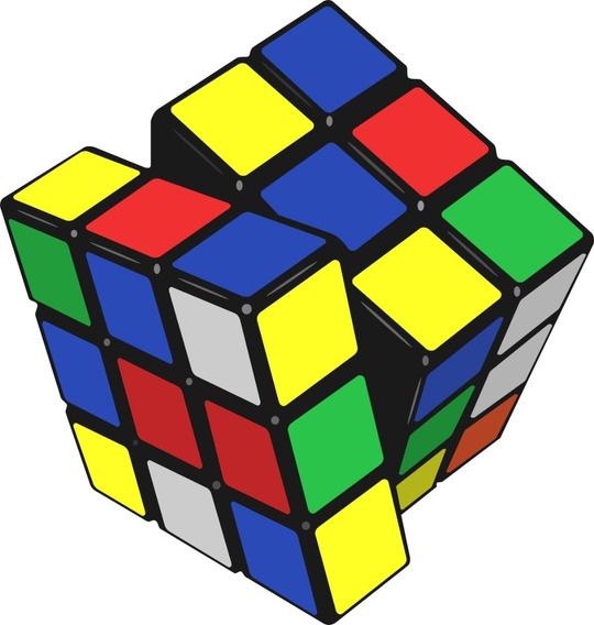 Cubo Rubik De 3x3x3 Tamaño Normal Mayor Y Detal 3 Uni