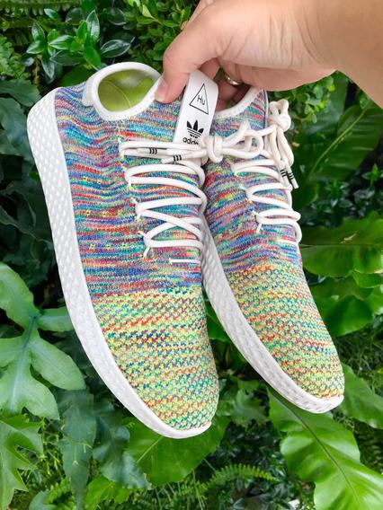 adidas Pharrell Williams Hu Primeknit chalk Coral