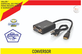 Adaptador Hdmi Vga Para Tv Ps3 Pc Xbox360 Notebook