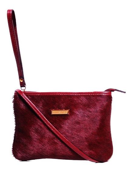 Bolsa Couro/pelo Bordo - Smartbag