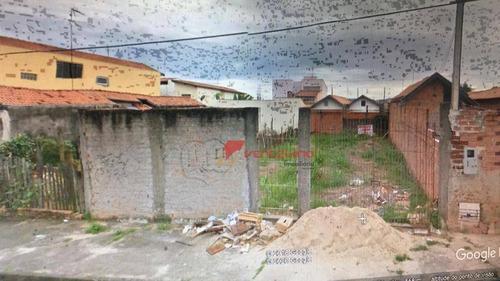 Terreno À Venda, 125 M² Por R$ 95.000,00 - Parque Água Branca - Piracicaba/sp - Te0712