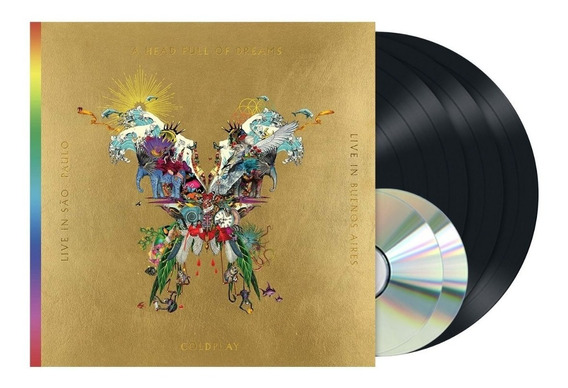 Coldplay - Live In Buenos Aires São Paulo [3lp Vinil+2dvd]