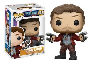 Funko Pop Star-lord 198 - Guardians Of The Galaxy Vol. 2