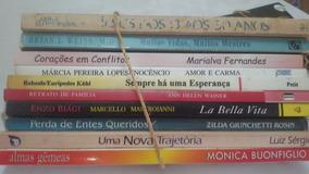 Livros Espirita Aut. Diversos Lote1 Usados 10unid
