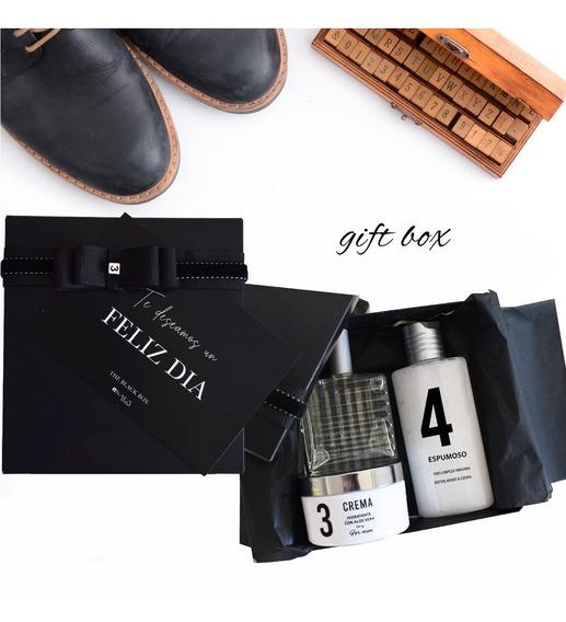 Gift Box Black Cuidado Personal Regalo Hombre Padre