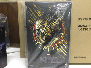 Black Panther Erik Killmonger Hot Toys Disponible